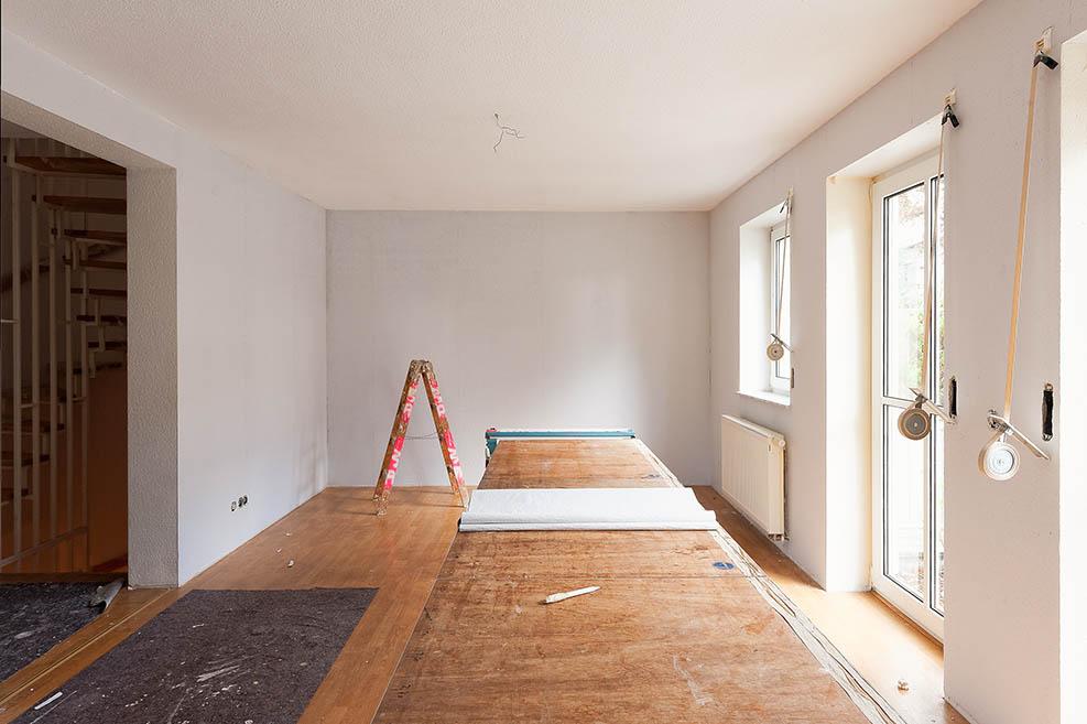 Baugeld für Modernisierung und Renovierung